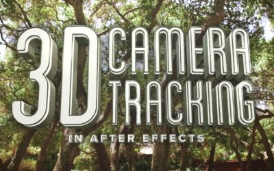 3D Camera Tracking In After Effects