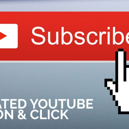 Animated YouTube Subscribe Button with Click in After Effects