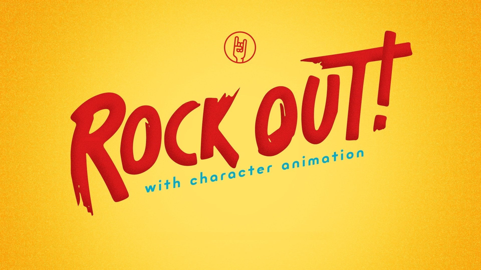 Rock Out with Character Animation