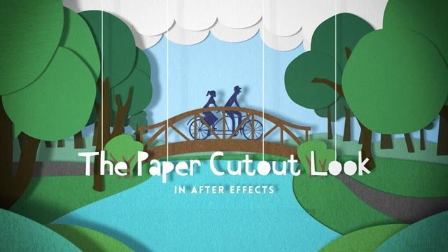 The Paper Cutout Look in After Effects