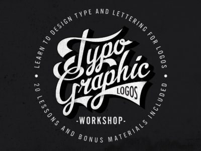 Typographic Logos: Typography and Lettering for Logo Design
